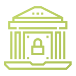 Government Cyber Security Icon