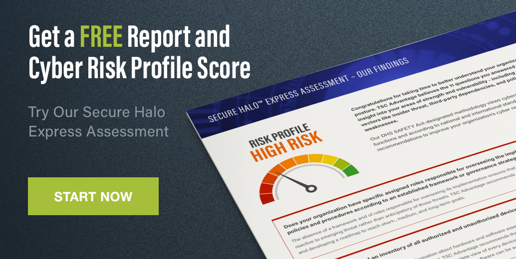 Free Report and Cyber Risk Profile Score